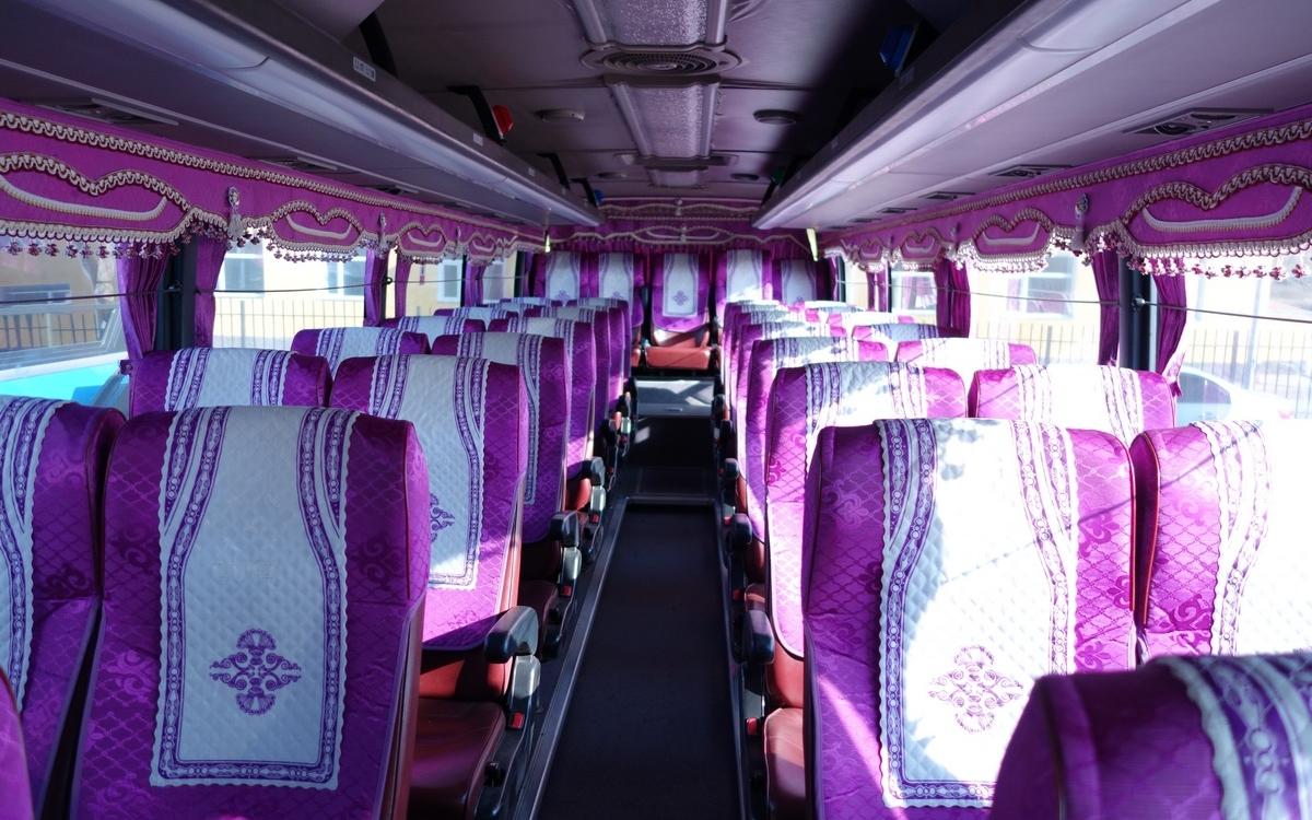 Les bus mongols