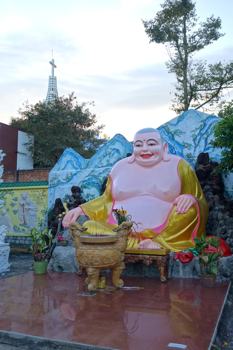 A Bao Loc, les religions se côtoient de près