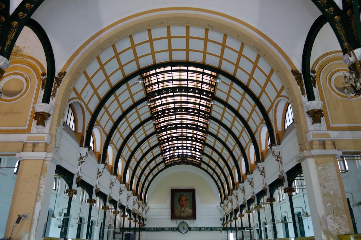 La poste centrale de Saïgon