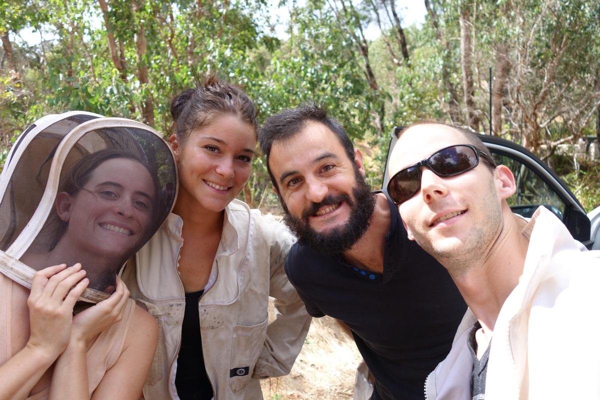 Avec Margaux et François